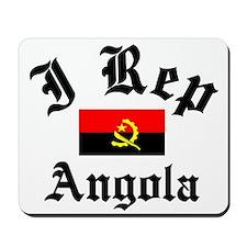 I rep Angola Mousepad