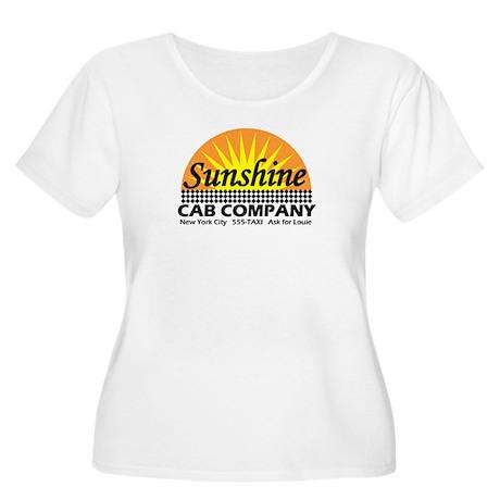 Sunshine Cab Co Women's Plus Size Scoop Neck T-Shi