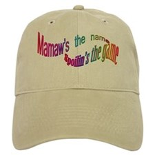 Mamaw's the name, SPOILIN'S the game Baseball Cap