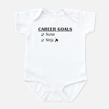 Nurse Career Goals Infant Bodysuit