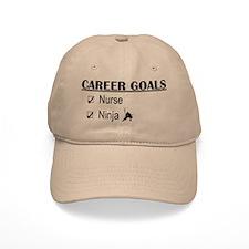 Nurse Career Goals Baseball Cap