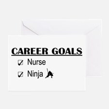 Nurse Career Goals Greeting Cards (Pk of 10)