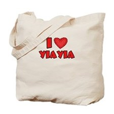 I heart YiaYia Tote Bag