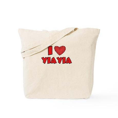 I heart YiaYia Tote Bag