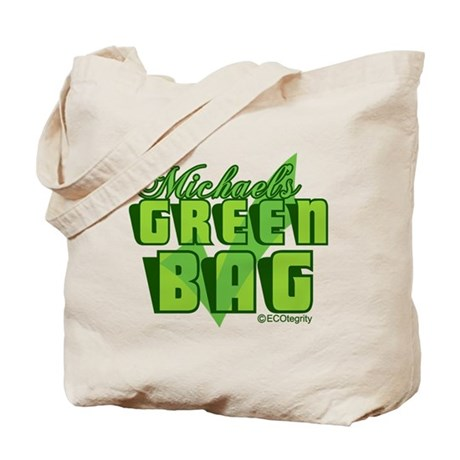 Michael's Green Tote Bag