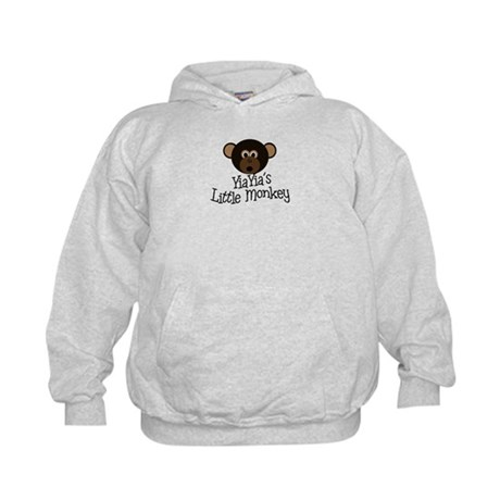 YiaYia's Little Monkey BOY Kids Hoodie
