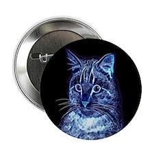 Blue Digital Cat Button