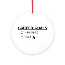 Paramedic Career Goals Ornament (Round)