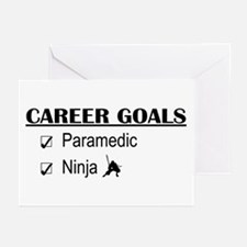 Paramedic Career Goals Greeting Cards (Pk of 10)