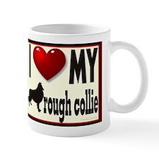 I {heart} my Rough Collie Mug