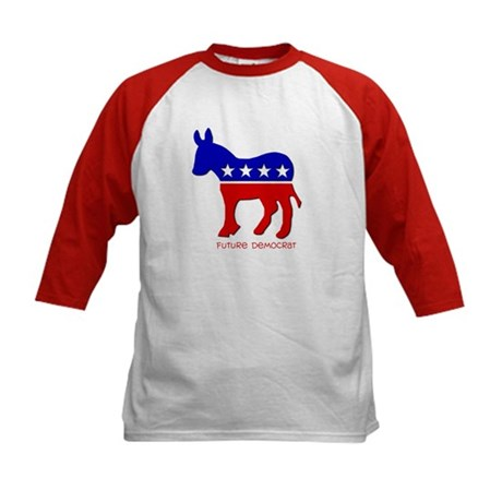 Future Democrat Kids Baseball Jersey