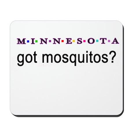 Minnesota mosquitos Mousepad