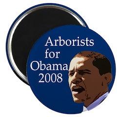 Arborists for Barack Obama Magnet