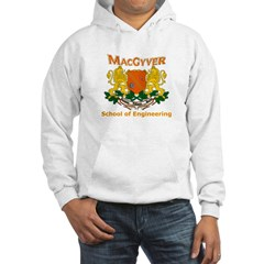MacGyver Engineering Hooded Sweatshirt