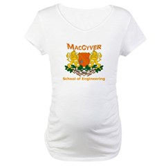 MacGyver Engineering Maternity T-Shirt
