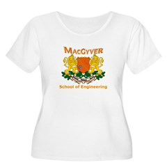 MacGyver Engineering Women's Plus Size Scoop Neck