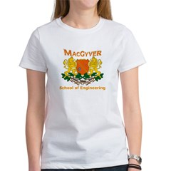 MacGyver Engineering Women's T-Shirt