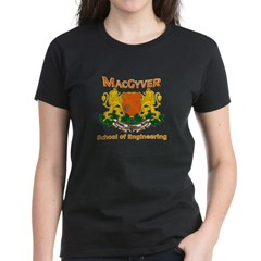 MacGyver Engineering Women's Dark T-Shirt