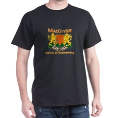 MacGyver Engineering Dark T-Shirt