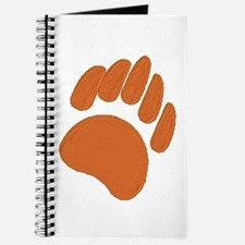 ABSTRACT COPPER BEAR PAW Journal