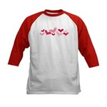 hearts Kids Baseball Jersey