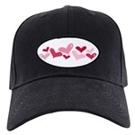 hearts Black Cap