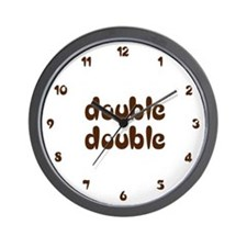 My Double Double Wall Clock