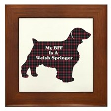 Welsh Springer Spaniel Framed Tile
