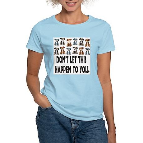 Spay / Neuter your Pet Women's Pink T-Shirt