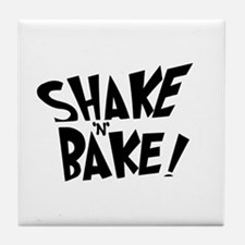 """Shake 'N' Bake""  Tile Coaster"