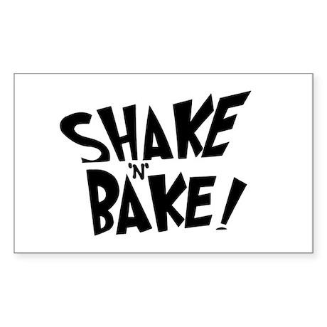 """Shake 'N' Bake"" Rectangle Sticker"