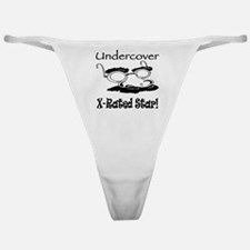 Undercover X-Rated Star Classic Thong