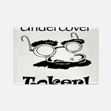 Undercover Toker Rectangle Magnet