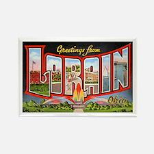 Lorain Ohio Greetings Rectangle Magnet