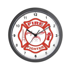 Shriners Fire Fighter Wall Clock