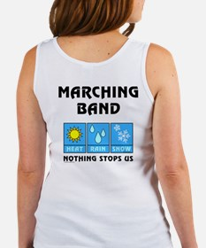 Marching Band Back Image Women's Tank Top