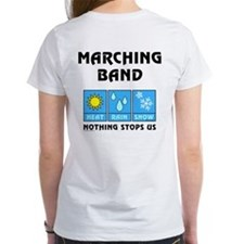 Marching Band Back Image Tee