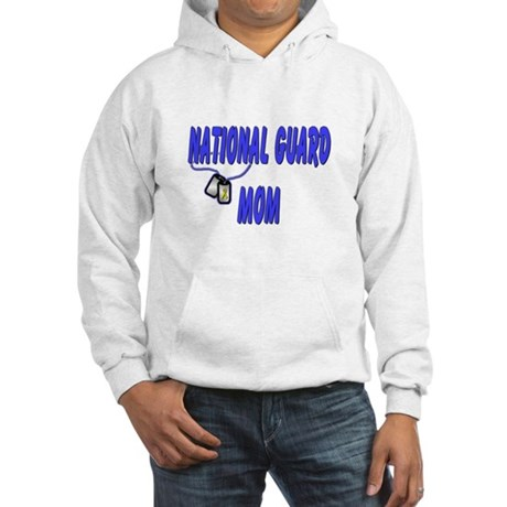 National Guard Mom Hooded Sweatshirt