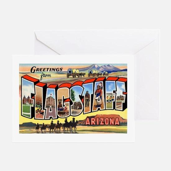 Flagstaff Arizona Greetings Greeting Card