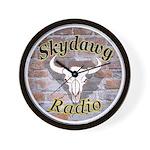 Skydog Radio Wall Clock