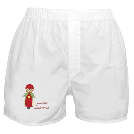 Just Scoot-Scooter Lover Gear Boxer Shorts