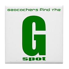 GPS Geocache G Spot Tile Coaster Funny GPS Gift