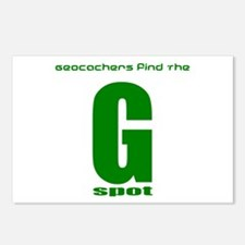 GPS Geocache G Spot Postcards (Package of 8)
