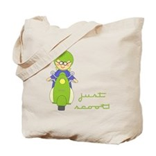 Just Scoot-Scooter Lover Gear Tote Bag