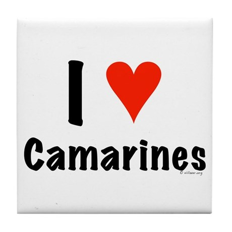 I love Camarines Tile Coaster