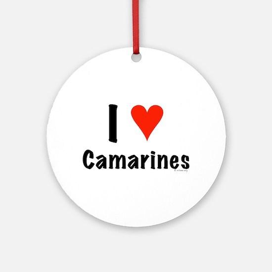 I love Camarines Ornament (Round)