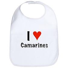 I love Camarines Bib