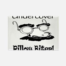 Undercover Pillow Biter Rectangle Magnet
