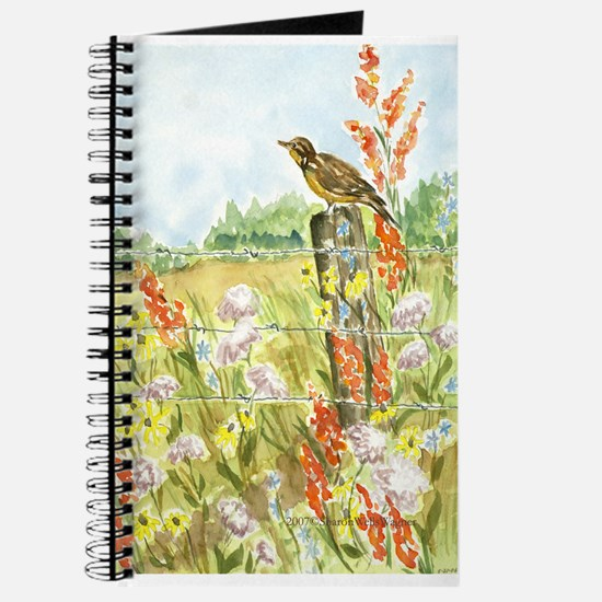 Meadow and Lark Blank Journal