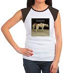 Saluki Best Friends Women's Cap Sleeve T-Shirt